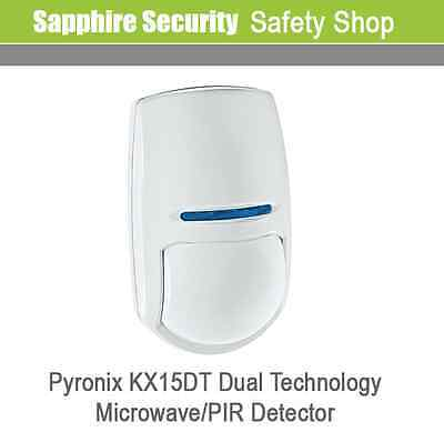 Pyronix KX15DT Digital Combined PIR and Microwave Blue Wave Technology Detector