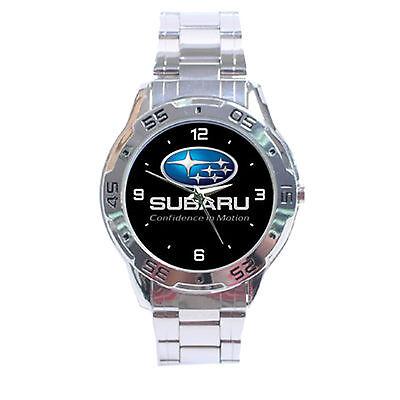Subaru Automobile World Rally Team WRC Analogue Men's Watch For Gift No T Shirt