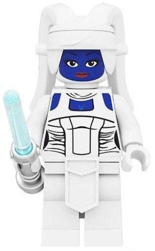 Star Wars Mandalorianos Aayla Secura da Estrela da Morte Personalizado Lego Mini Figura De Brinquedo
