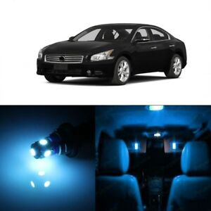 15-x-Ice-Blue-LED-Interior-Light-Package-For-2009-2014-Nissan-Maxima-TOOL