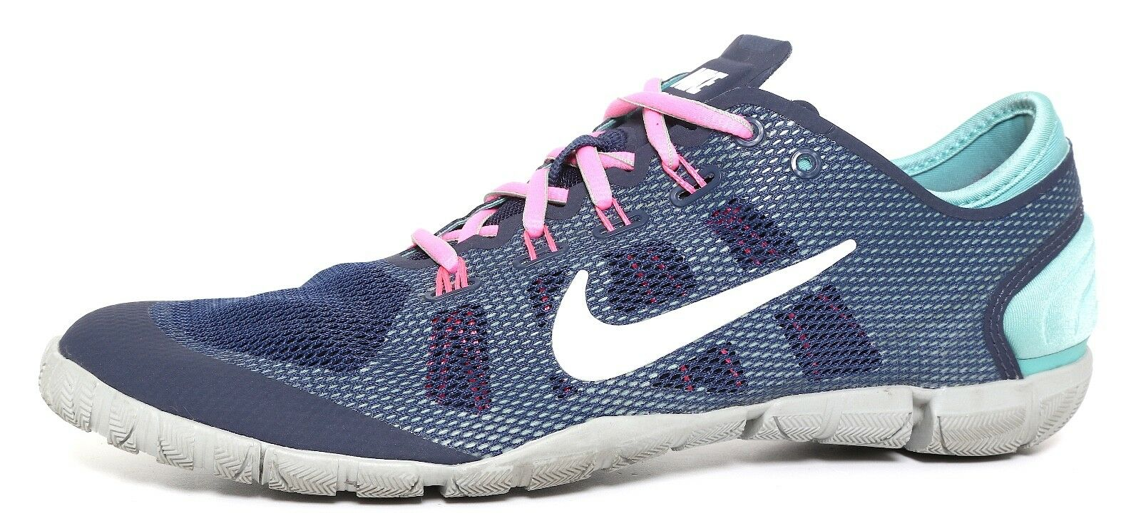Nike Flat Flexible Women Running Sneakers Turquoise Grey Women Flexible Sz 9 2365 ed308d