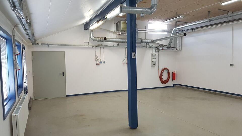 110m2 Produktion/lagerlokale i naturskønne Kulh...