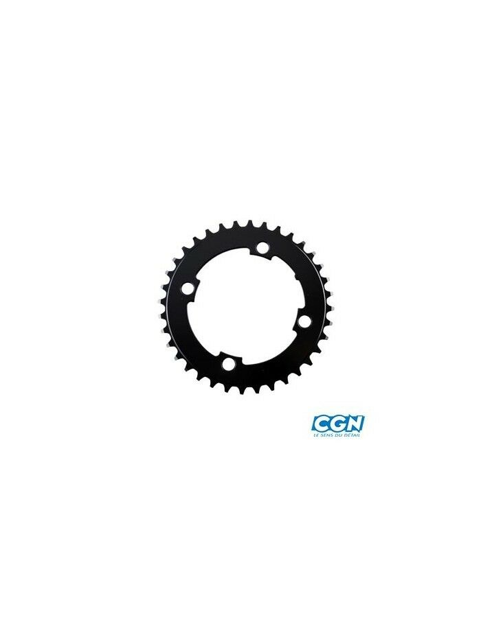 Brett Brett Brett e fahrrad vae mono diam 104 exter 36dts schwarz 4 zweige comp. bRosa  f8881f