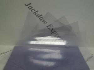 20-Clear-Acetate-Plastic-A5-280gsm-Sheets-for-Cardmaking-Arts-amp-Crafts-AM924