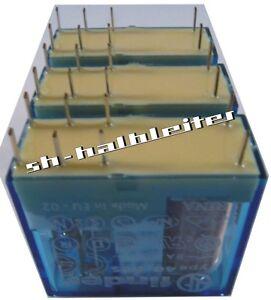 3-Stuck-FINDER-Relais-60V-2-Wechsler-8A-Type-40-52-7-060-0001-3pcs