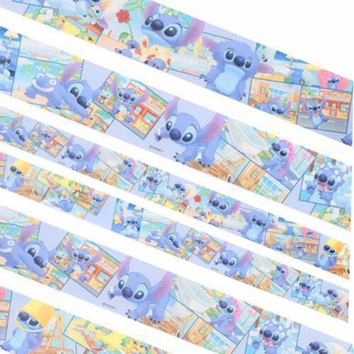 Stitch Big One Day 25mm x 8m Disney Japanese Washi Paper Masking Tape Sitcker