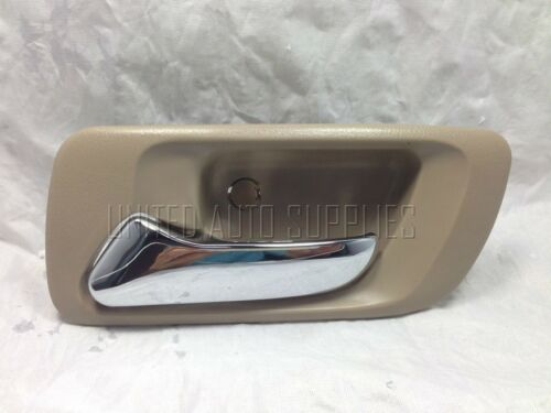 Chrome//Beige Rear Left LH Driver Side Interior Inside Door Handle Accord Sedan
