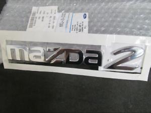 Original Mazda 2 ( Dy) dd32-51-720a, Emblem Logo