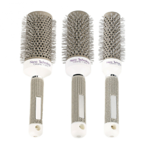 Professional-Ceramic-Round-Barrel-Hair-Brush-Iron-Radial-Comb-Curly-Hair-Combs