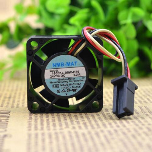 NMB 1608KL-05W-B39 0.08A 4CM 4020 24V with alarm driver fan