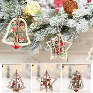 3pc-Wooden-Christmas-Hang-Decor-Tree-Bell-Star-Xmas-Ornament-Pendant-Party-Gift