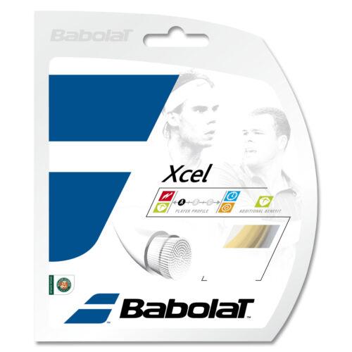 1,30mm Testsaite von der Rolle Babolat xcel 12m