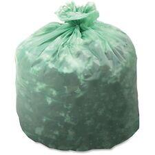 Stout EcoSafe-6400 Compostable Bags, 13 gal, 0.85mil, 24 x 30, Green, 45/Carton,