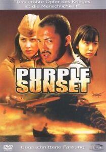 Purple Sunset (Director's Cut) [DVD/Nuovo/Scatola Originale] un prigioniero di guerra cinese