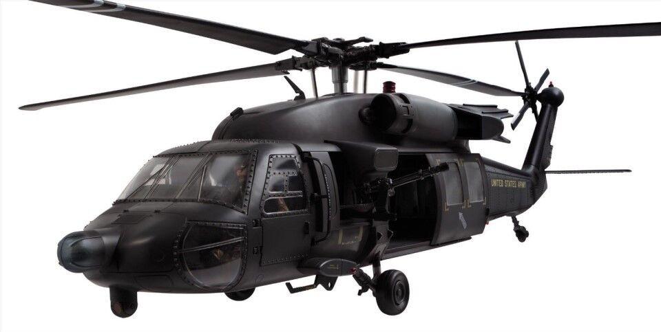 1 18 Bbi Elite Force Negro hwack M60 helicóptero limiterted edición RAID de noche