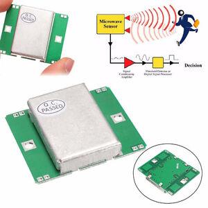 Details About New Hb100 Microwave Motion Sensor 10 525ghz Doppler Radar Detector For Arduino