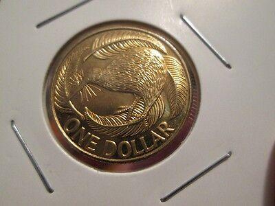 2004 New Zealand $1 One Dollar Scarce Coin