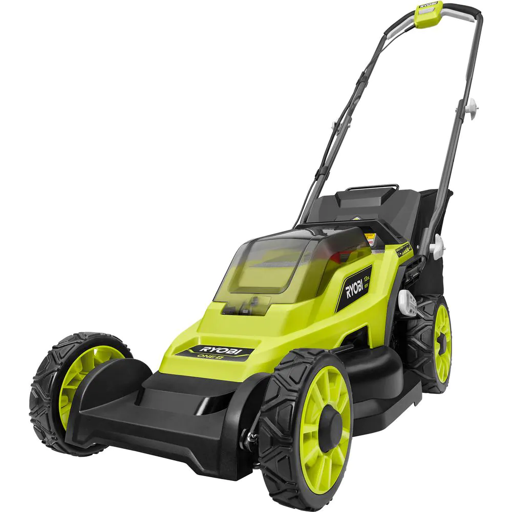 13 In. One+ 18-Volt Lithium-Ion Cordless Battery Walk Behind Push Lawn Mower (To
