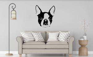 French Bulldog Wall Art Autocollant Décalque taille L couleur choix Home