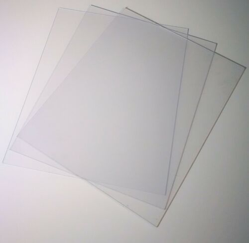 Acrylic Perspex 8 x 10 inch 1.2mm Glass Replacement 254 x 203 Photo Frame