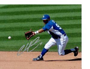 Christian Colon Kansas City Royals Signed 8x10 Photo LOM COA (PH2698)