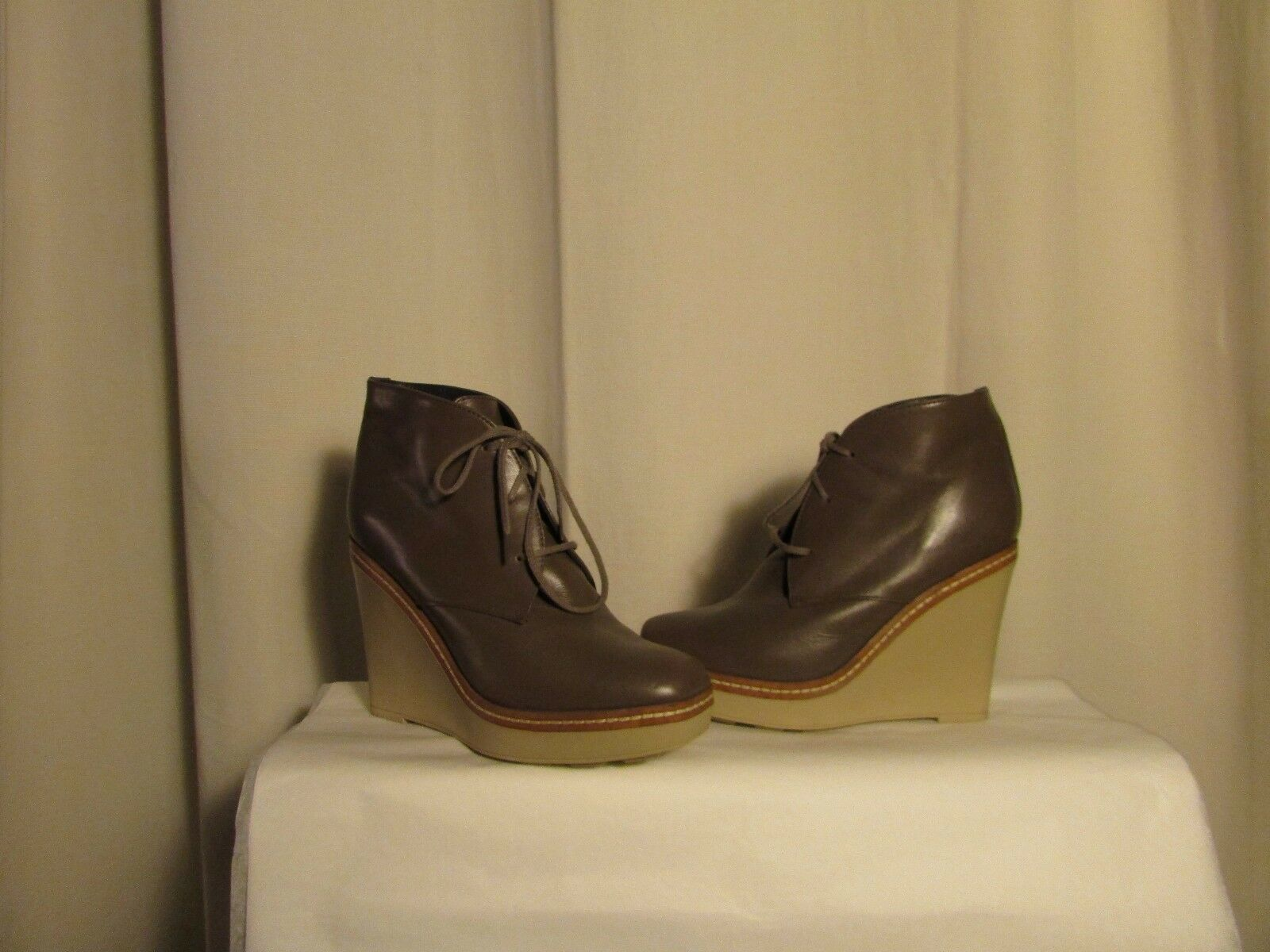 Boots wedge boots CASTANER leather taupe 39