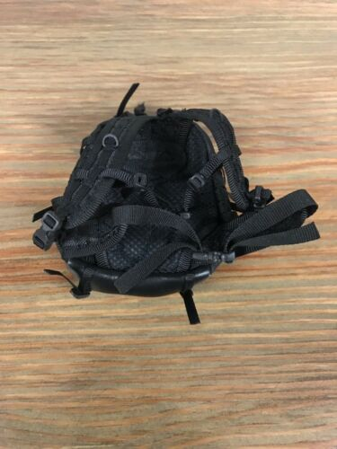"""12/"""" Action Figures Hot Toys 1//6 Scale Black Military Adventure Backpack"""