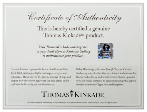 "Thomas Kinkade 14.25/"" x 14.25/"" Master Palette Edition Framed Print"
