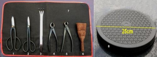 BONSAI set utensili 8tlg-Tool Set 8 Pieces-Top merce Giappone