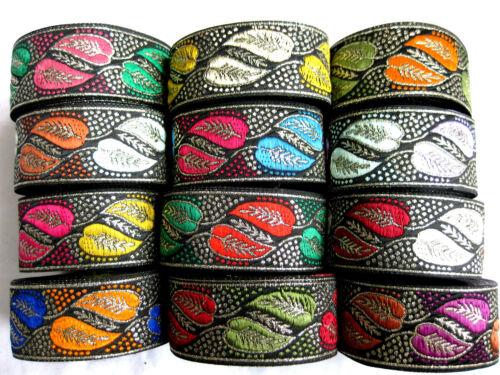 32mm breit B36 lfm Borte in verschiedenen Farben