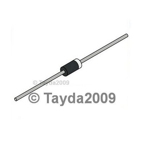 25 x 1N4007 1A 1000V Rectifier Diode - Free Shipping