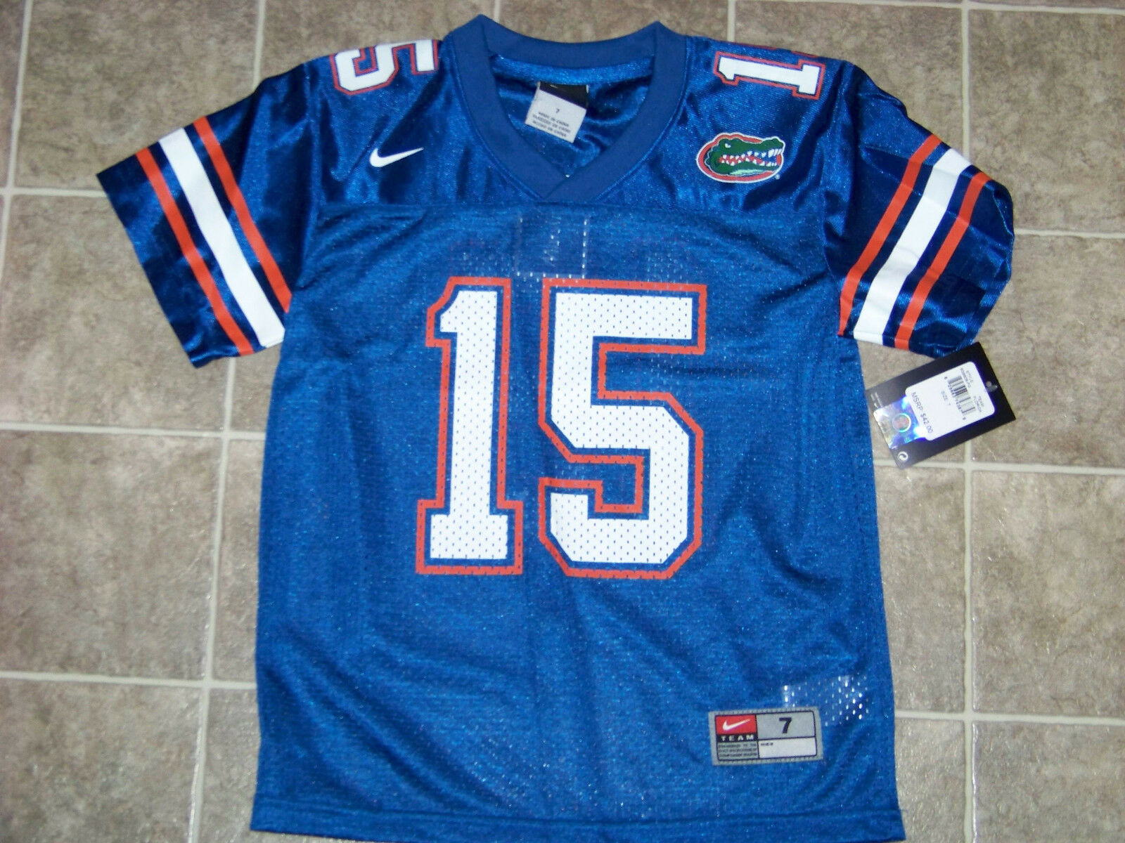 huge selection of ae908 46cda Nike University of Florida Gators #15 Tim Tebow Youth Jersey NWT