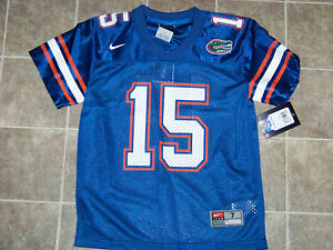 reputable site a568a 31182 Details about Nike University of Florida Gators #15 Tim Tebow Youth Jersey  NWT