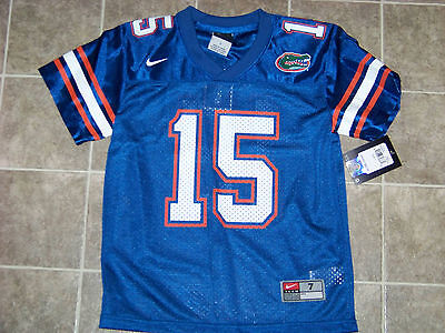 new product a2841 886ab Nike University of Florida Gators #15 Tim Tebow Youth Jersey NWT | eBay