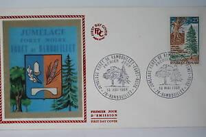 ENVELOPPE-PREMIER-JOUR-SOIE-1968-FORET-NOIRE