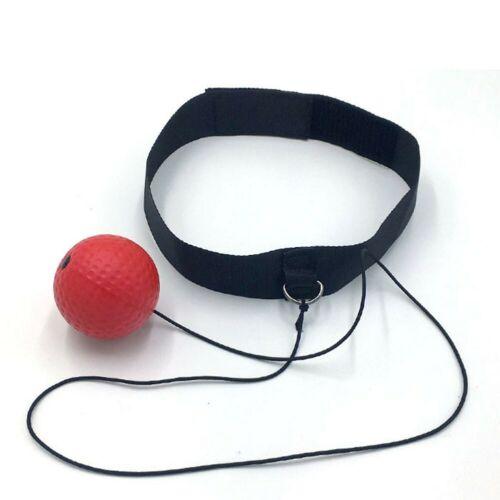 Sportboxkampf-Ball Mit Stirnband Für Reflex Speed Boxer Training Punch