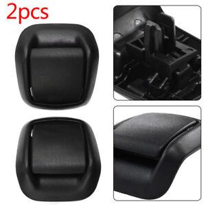 Right + Left Hand Front Seat Tilt Handles Black For FORD Fiesta MK6 2002-2008 714131839032