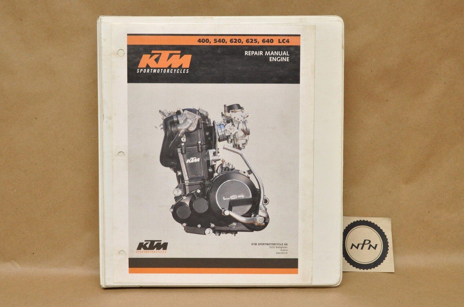 ktm sportmotorcycles engine repair manual 400 540 620 625 640 lc4 ebay rh  ebay co uk LC4 KTM Forum LC4 KTM Forum
