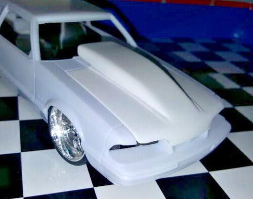 LSM-Resin-Bubble-Hood-for-039-90-Mustang-LX-5-0-Revell-1-25-NEW-HOT