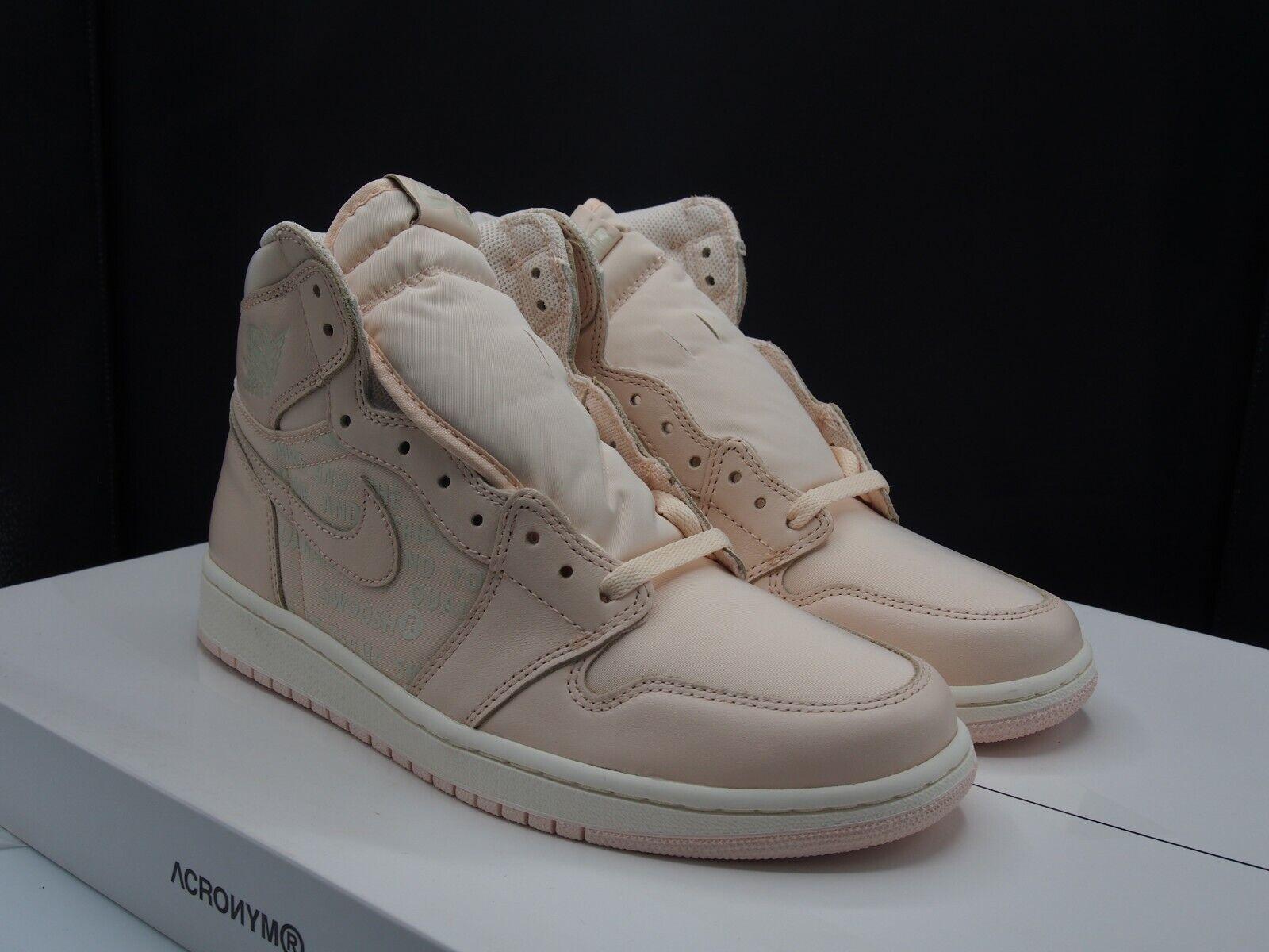 Nike Air Jordan 1 Retro Retro Retro High OG  Guava  555088-801 Men's size 9.5 US 85226c