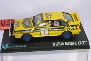 Place d'équipe 12305 Audi Quattro A2 # 1 Honk Kong Beling Rally 1985 H.mikkola-hertz