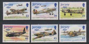Jersey-2000-Aviation-Histoire-7th-Series-Ensemble-MNH-Sg-962-7