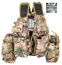 British Army Military Patrol US South AfricanTactical Combat Assault Vest BTP