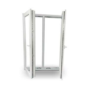Fenster kunststofffenster wohnraumfenster fenster 2 fl gelig mit pfosten neu ebay - Fenster 2 flugelig ...