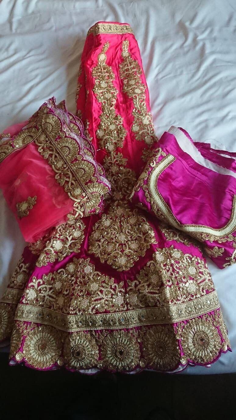 India Designer Bollywood Party Traditional New Ethnic Lehenga Choli