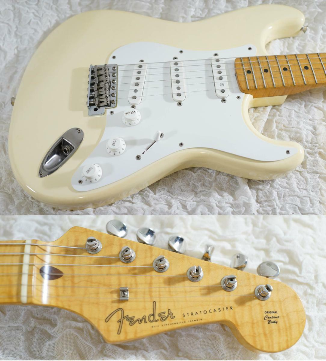 Fender Japan ST57-65AS VWH 40th Anniversary beautiful rare EMS F S
