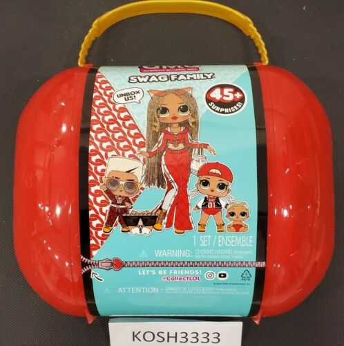 Limited Edition New LOL OMG Surprise Swag Family Fashion Doll In Stock L.O.L