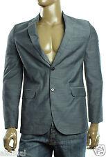 New Mens Calvin Klein Dressy Refined Fine Slub Ombre Blue Blazer Jacket S