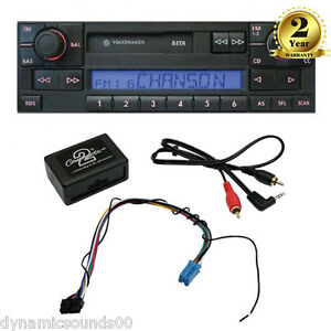 MP3-iPod-AUX-IN-Adaptor-Free-Delivery-for-VW-Golf-MK4-Polo-Bora-Passat-1998-2005