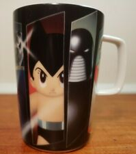 "Osamu Tezuka Mug /""Astro Boy/"" Yellow φ3.3×h3.2in,Tezuka Productions,Tokyo Japan"